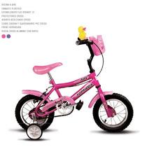 Bicicleta Cross Rodado 12 Nena / Nene Rosa Lila Azul Roja Y+