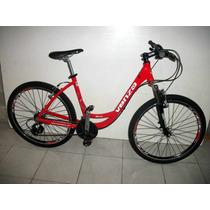 Bicicleta Mtb Venzo Jana Rod 26 Suspension Dama Envio Gratis