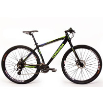 Bicicleta Mountain Bike Rod 29 24v Disco Aluminio Mega Pro