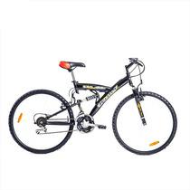 Bicicleta Mountain Bike Halley 19310, R26, 18 Vel. Shimano