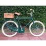 Bicicleta Vintage R26 Hombre Estilo Retro Inglesa