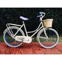 Bicicleta Retro Vintage Estilo Inglesa Antigua Mujer R26