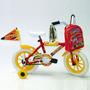 Bicicleta Rodado 12 Dzx Stark Varón Nene 6048 Rueditas Mochi