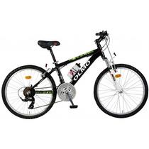 Bicicleta Olmo Safari 240 Rodado 24 Rojo/negro
