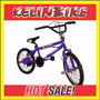 Bicicleta Bmx Freestyle Kelinbike R.20 Cdisk Azul