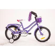 Bicicleta Playera Halley R16 Nena Niña 19058 Canasto Porta