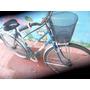 Bicicleta De Dama Caño Bajo Con Canasto P/ Usar Veala!