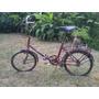 Bicicleta Plegable Rodado 20 Marca Super Argentina