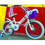 Bicicleta Rodado 16 Aluminio Nena Varon Liviana Dia Del Niño