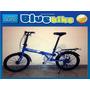 Bicicleta Plegable Raleigh 6v Shimano Aluminio Rod 20 Nuevas