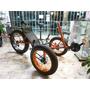 Bicicleta-triciclo Fat Recumbente 20x4