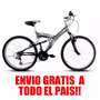 Bicicleta Mountain Mega 24 Doble Susp. Envios/cargotrp Bike