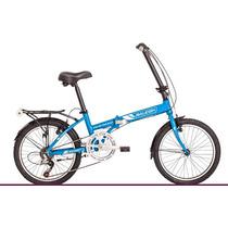 Bicicleta Plegable Raleigh F Straight R20 6v Envio Gratis
