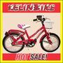 Bicicleta Playera Con Frenos Kelinbike R.16 Dama Con Canasto