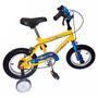 Bicicleta Halley Bmx Varón R12 Asterix Con Rueditas 19030