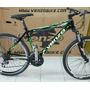 Bicicleta Venzo Yety 24 Velocidades V- Brake.