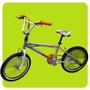 Bicicleta Freestyle Rodado 20 Cuadro Aluminio Freno V-brake