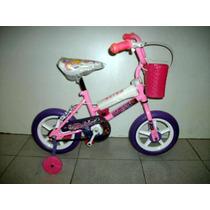 Bicicleta Rodado 12 Nena Nene Canasto Ruedas Masisas Oferta