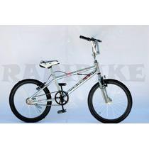 Bicicletas Bmx Freestyle Rodado 20 Cromadas Rotor