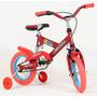 Bicicleta Rodado 12 Con Suspension Y Rueditas Niños La Mejor