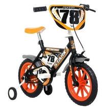 Bicicleta Infantil Rodado 12 Dzx Motocross P/ Niños Varon