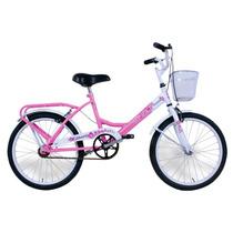 Bicicleta Para Nenas Color Rosa Rodado 16