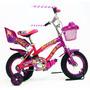 Bicicleta Infantil Rodado 12 Unica Reforzada Frenos C/camara