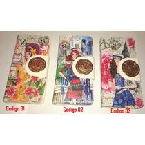 Billeteras Importadas Diseños Moda Strass Doble