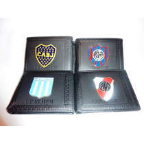 Billetera Futbol Boca River San Lorenzo Racing Independiente