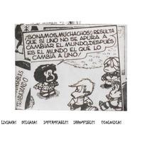 Billetera De Papel Tyvek Mafalda Quino