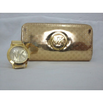 Billeteras Importadas+reloj+bolsa De Regalo! Divinos!
