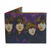 Billetera De Papel Tyvek The Beatles Ecologica