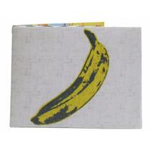 Billetera De Papel Tyvek Andy Warhol Banana