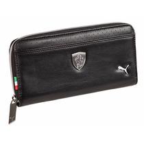 Billetera Ferrari Ls Wallet F Negras Excelente Calidad!!