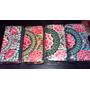 Billeteras Bordadas Handmade Fondo Negro - Made In Tailandia