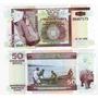 Billete De Burundi De 50 Francos Año 2006 Sin Circular