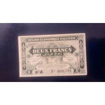 Billete De Argelia , Deux Francs 1944