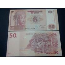2007 - Billete De Congo - Africa - 50 Francos