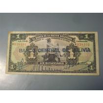 1 Boliviano De Bolivia De 1911