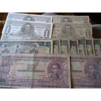 Billetes De Bolivia - 1911 A 1928