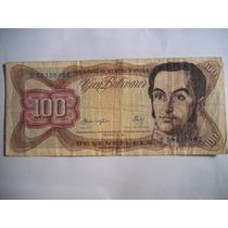 100 Bolívares Billete