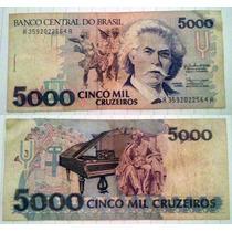 Billete Brasil, 5.000 Cruzeiros