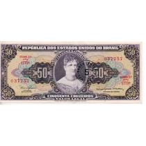 Brasil 50 Cruzeiro. Resellado 5 Cts N/cruz.bm 2036