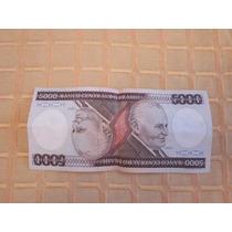 Billete 5000 Cruzeiros Brasil