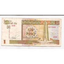 Cuba 1 Peso Convertible Año 2013 !!