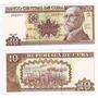 Cuba Billete 10 Peso Cubano Cup