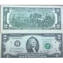 Fajo De 50 Billetes Correlativos De 2 Dolares S/circ.2013