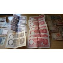 Lote Billetes Antiguos De Argentina, Brasil Y Uruguay