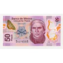 México Billete De 50 Pesos Año 2013 Excelente!!!