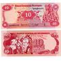Billete Nicaragua 10 Cordobas Año 1979 Sin Circular